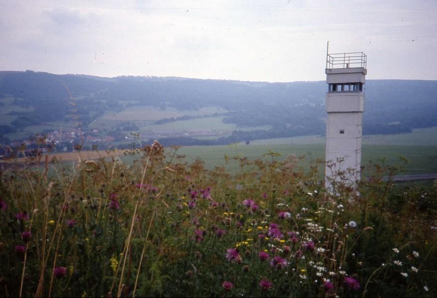 "Sludge G,""The inner-German border, near Hilders, Aug 1991"""