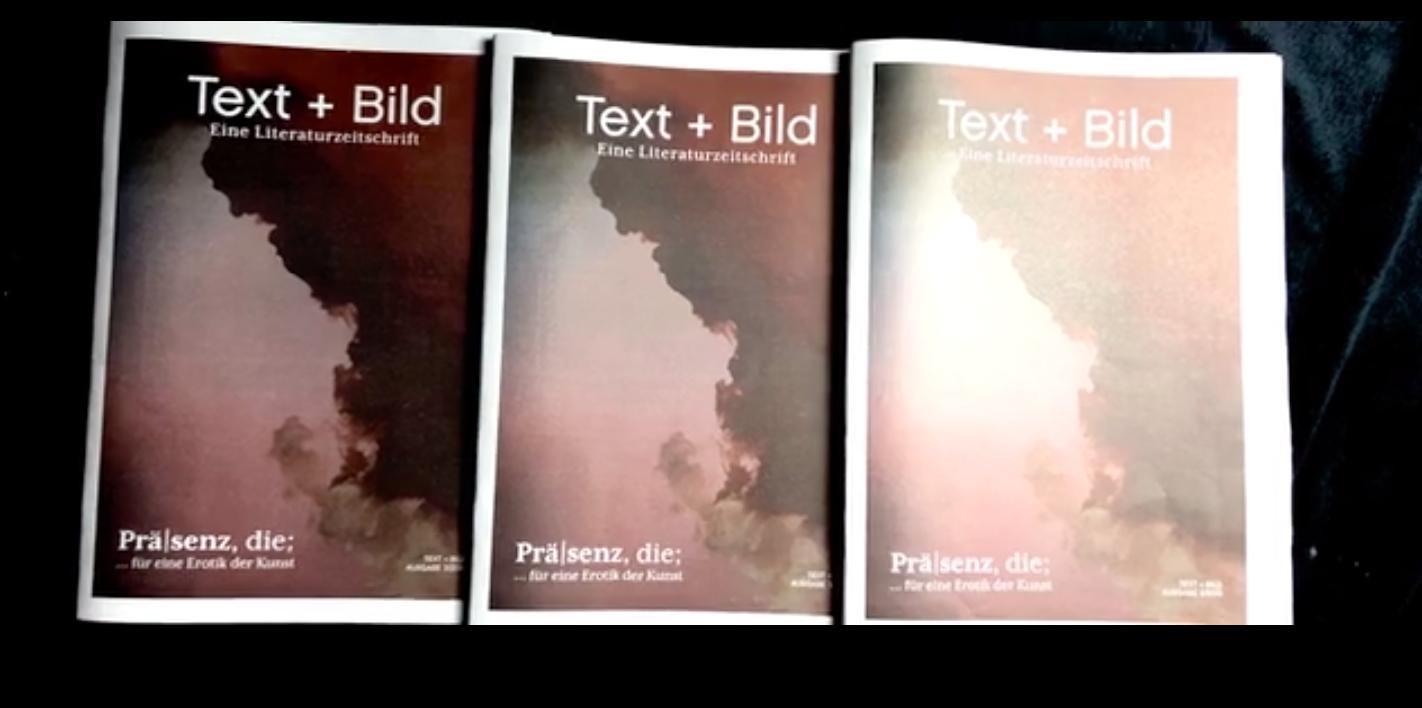 Text+Bild Ausgabe 3 Präsenz